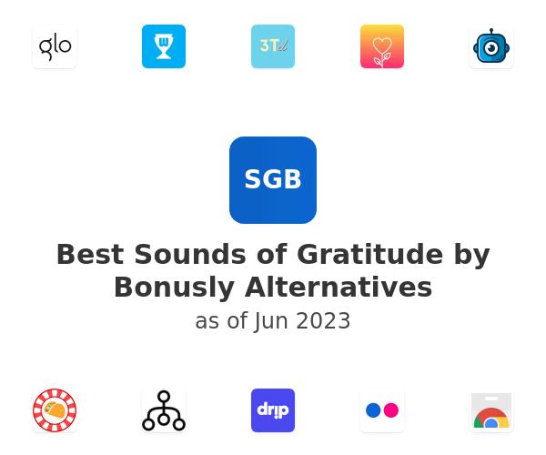 Best Sounds of Gratitude by Bonusly Alternatives