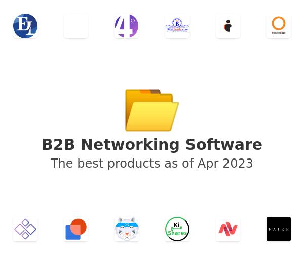 B2B Networking Software