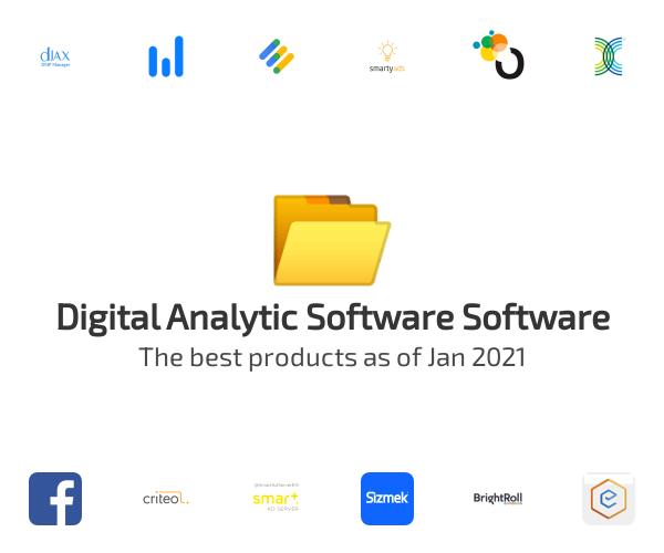 Digital Analytic Software Software