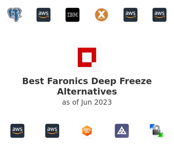 Best Faronics Deep Freeze Alternatives