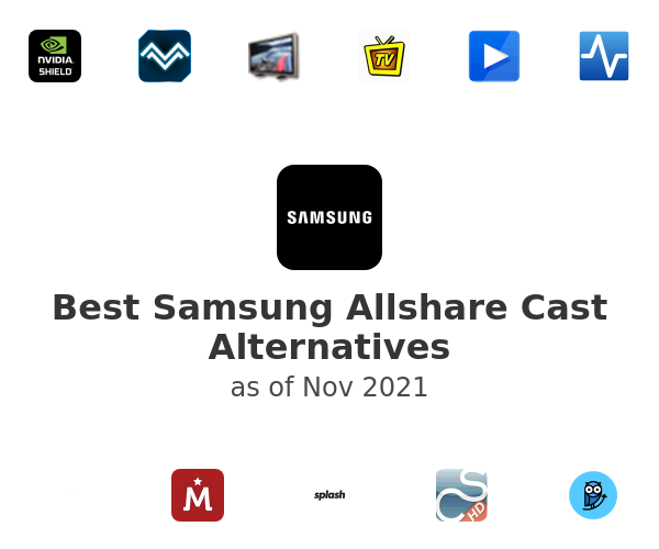 Best Samsung Allshare Cast Alternatives