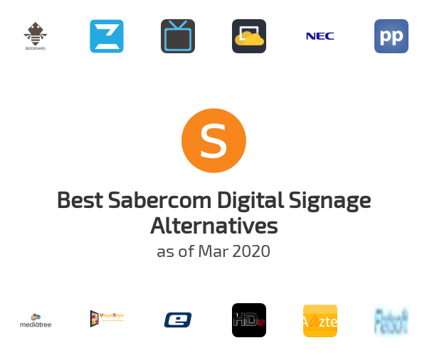 Best Sabercom Digital Signage Alternatives
