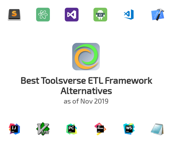 Best Toolsverse ETL Framework Alternatives