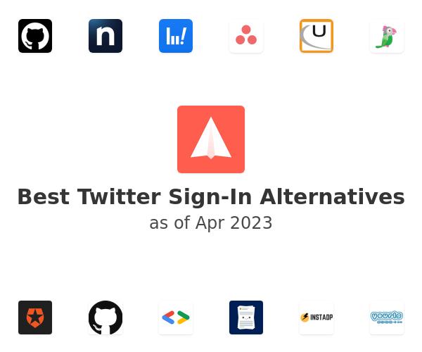 Best Twitter Sign-In Alternatives