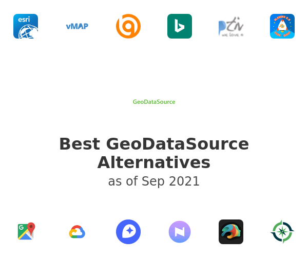 Best GeoDataSource Alternatives