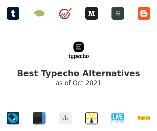 Best Typecho Alternatives
