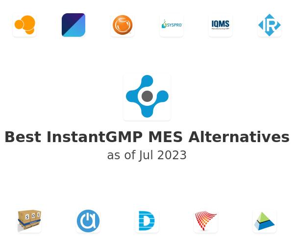Best InstantGMP MES Alternatives