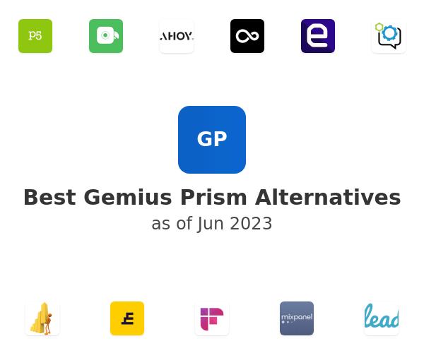 Best Gemius Prism Alternatives