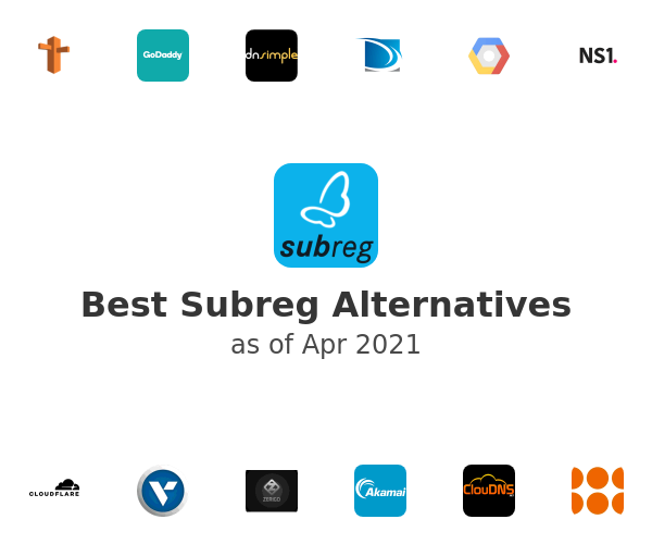 Best Subreg Alternatives