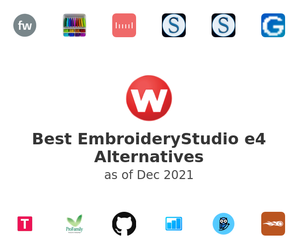 Best EmbroideryStudio e4 Alternatives