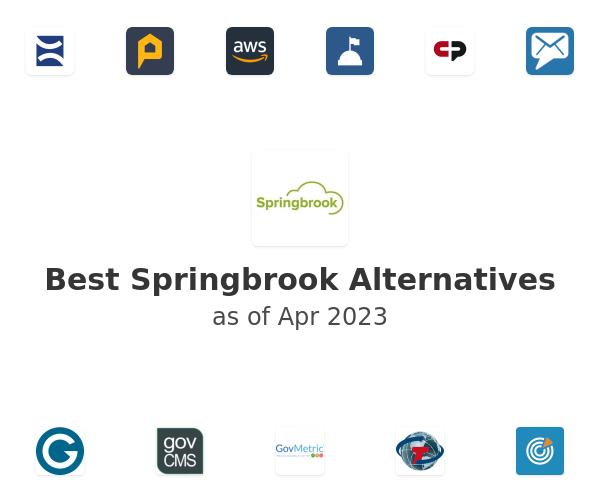 Best Springbrook Alternatives