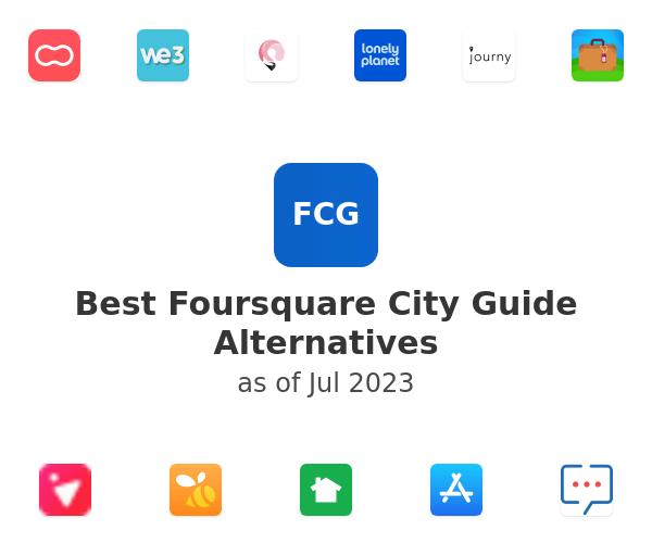 Best Foursquare City Guide Alternatives