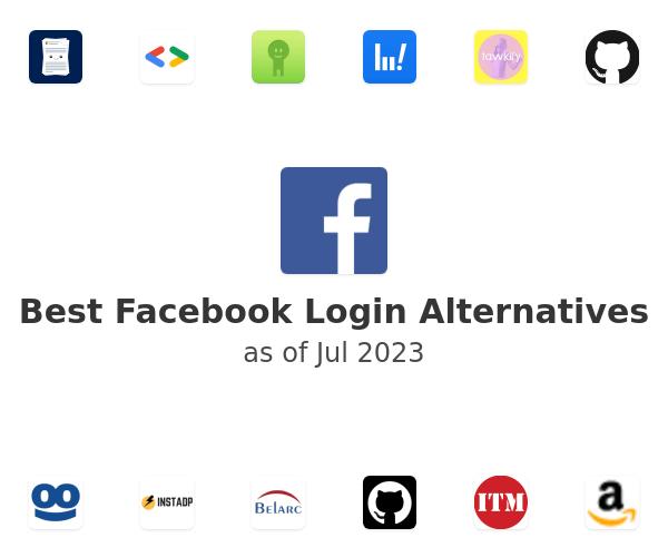 Best Facebook Login Alternatives