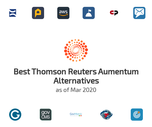 Best Thomson Reuters Aumentum Alternatives