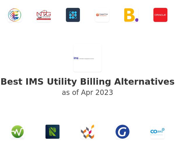 Best IMS Utility Billing Alternatives