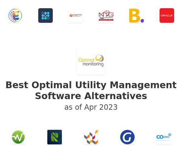Best Optimal Utility Management Software Alternatives