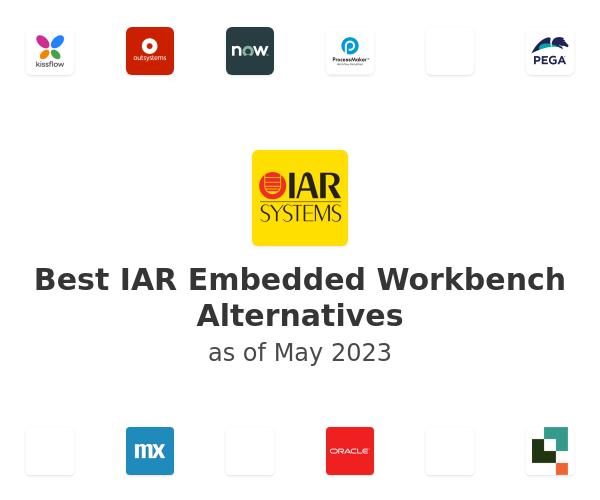 Best IAR Embedded Workbench Alternatives