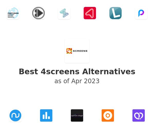 Best 4screens Alternatives