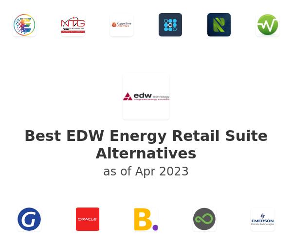 Best EDW Energy Retail Suite Alternatives