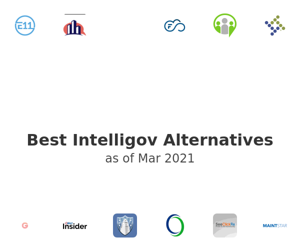 Best Intelligov Alternatives