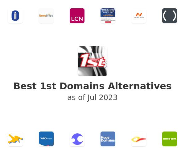 Best 1st Domains Alternatives