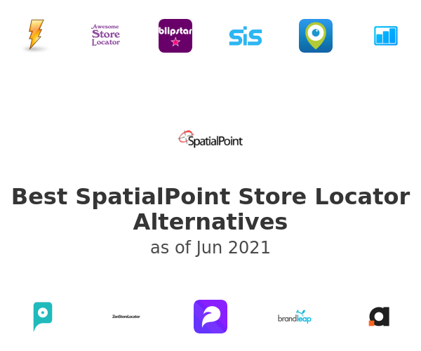 Best SpatialPoint Store Locator Alternatives