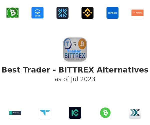 Best Trader - BITTREX Alternatives