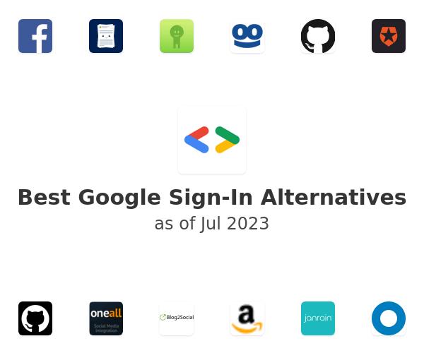 Best Google Sign-In Alternatives