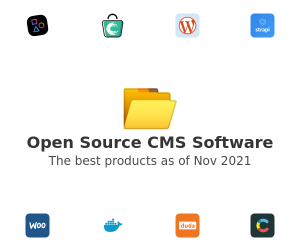 Open Source CMS Software