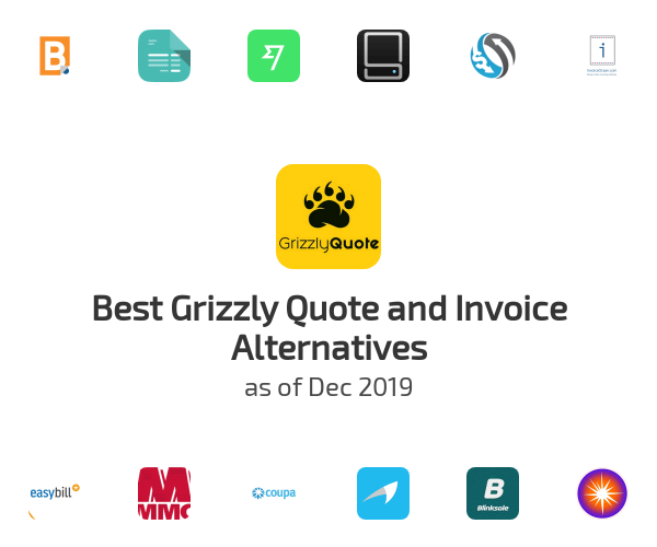 Best Grizzly Quote and Invoice Alternatives