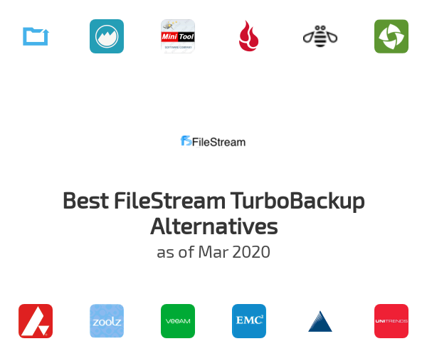 Best FileStream TurboBackup Alternatives