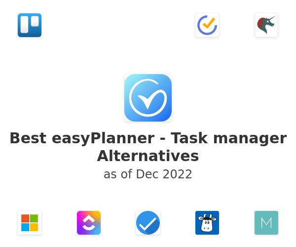 Best easyPlanner - Task manager Alternatives