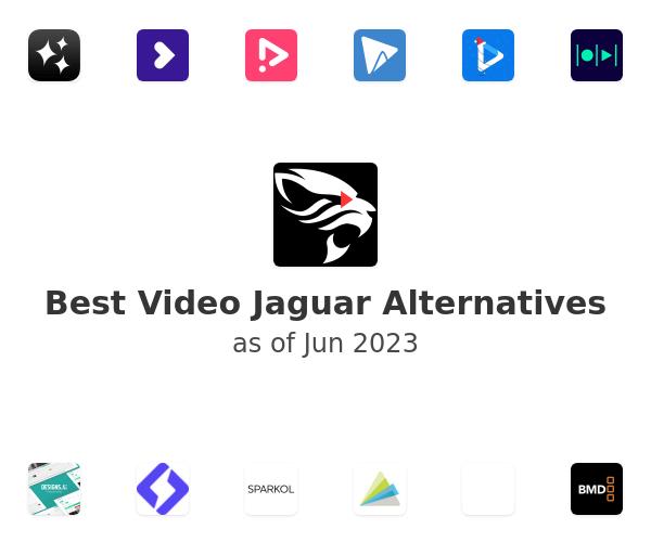 Best Video Jaguar Alternatives