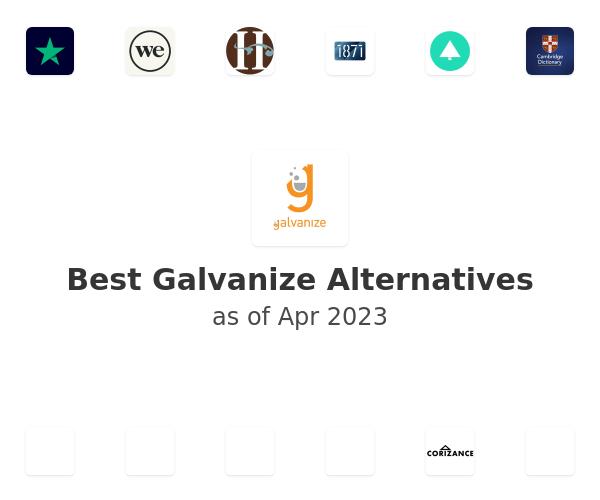 Best Galvanize Alternatives