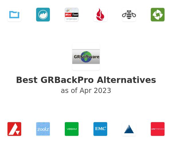 Best GRBackPro Alternatives