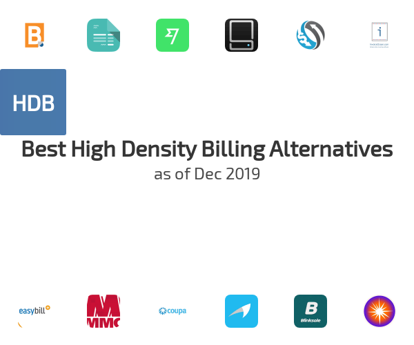 Best High Density Billing Alternatives