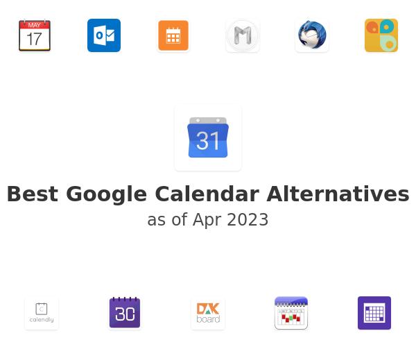 Best Google Calendar Alternatives