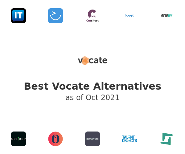 Best Vocate Alternatives
