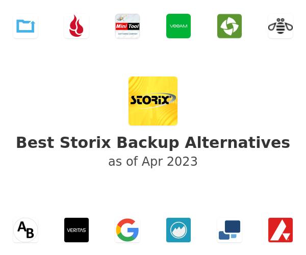 Best Storix Backup Alternatives