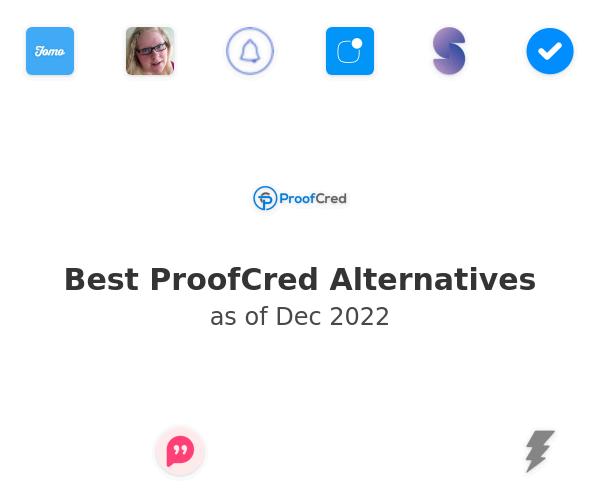 Best ProofCred Alternatives