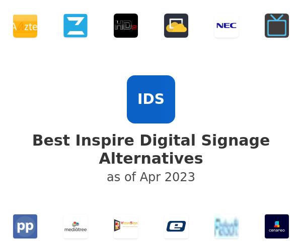 Best Inspire Digital Signage Alternatives