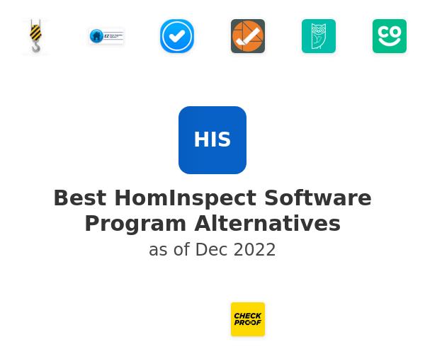 Best HomInspect Software Program Alternatives