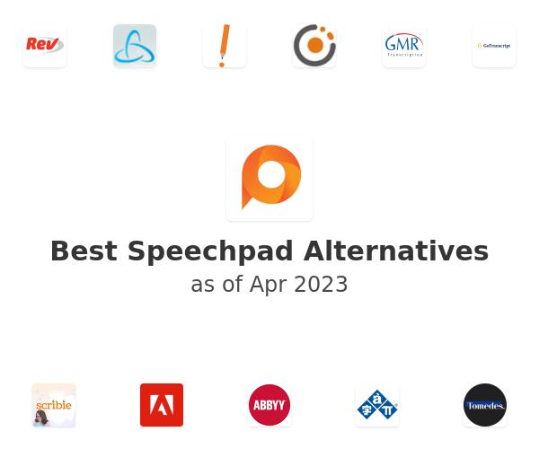 Best Speechpad Alternatives