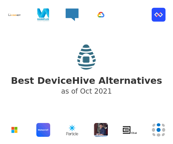Best DeviceHive Alternatives
