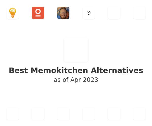 Best Memokitchen Alternatives