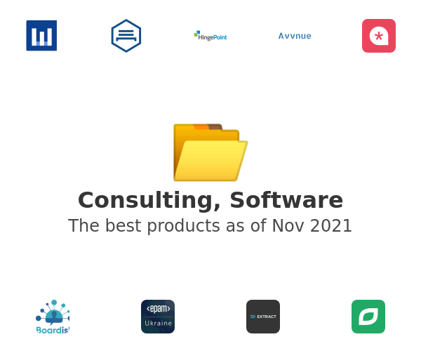 Consulting, Software