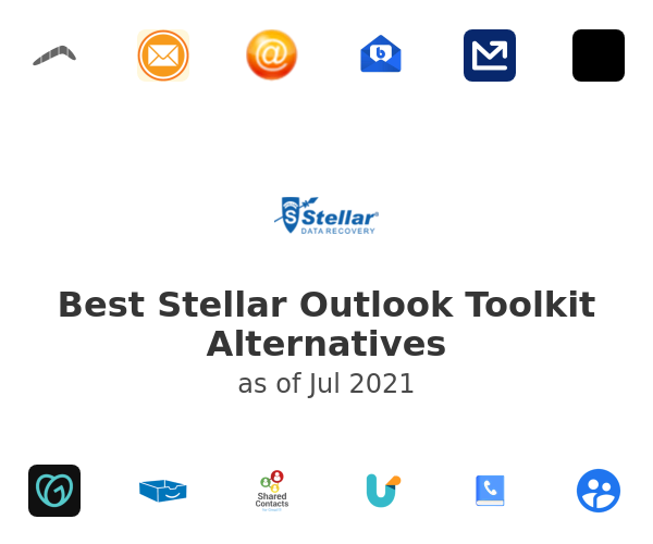Best Stellar Outlook Toolkit Alternatives