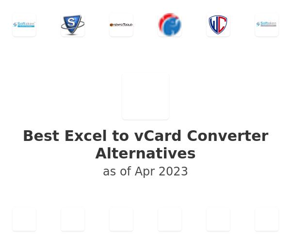 Best Excel to vCard Converter Alternatives