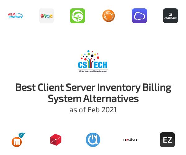 Best Client Server Inventory Billing System Alternatives