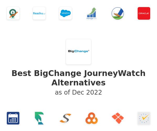 Best BigChange JourneyWatch Alternatives